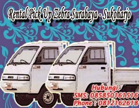 Rental Pick Up Zebra Surabaya - Sukoharjo