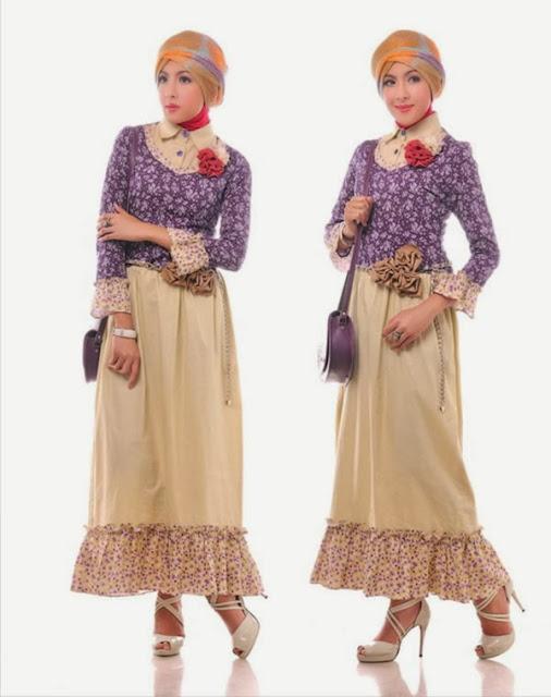 Trend Baju Muslim Wanita Terbaik 2015