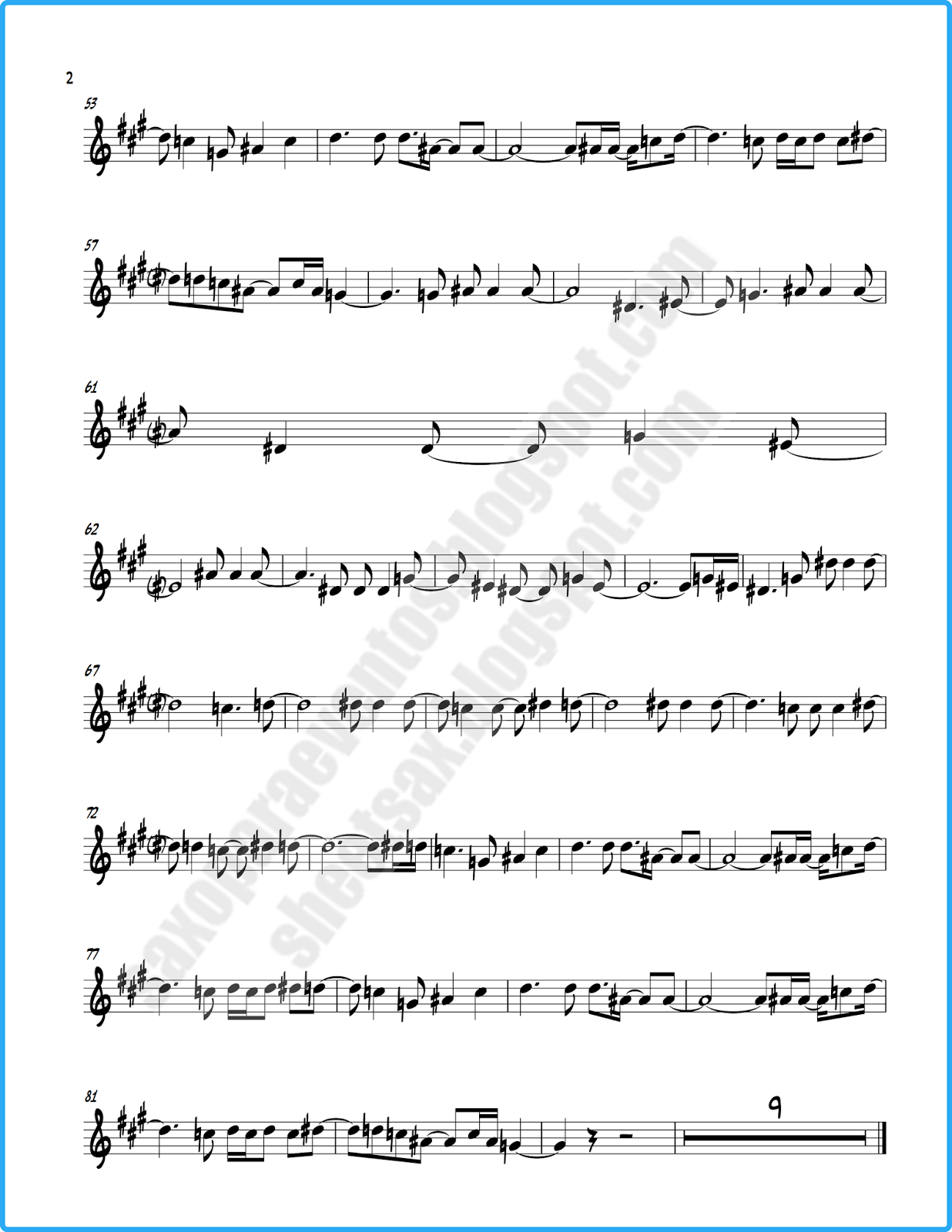 In the end by Linkin Park (Free sheet music) - New version +