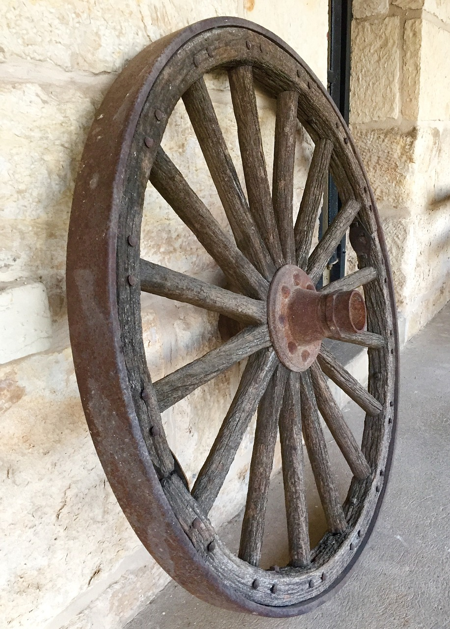 Dr riina 39 s one good thing hop skip brain for Things to do with old wagon wheels