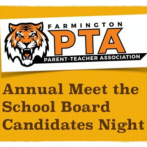 #FarmingtonNH PTA- Meet School Board Candidates Night -Tuesday, March 3rd