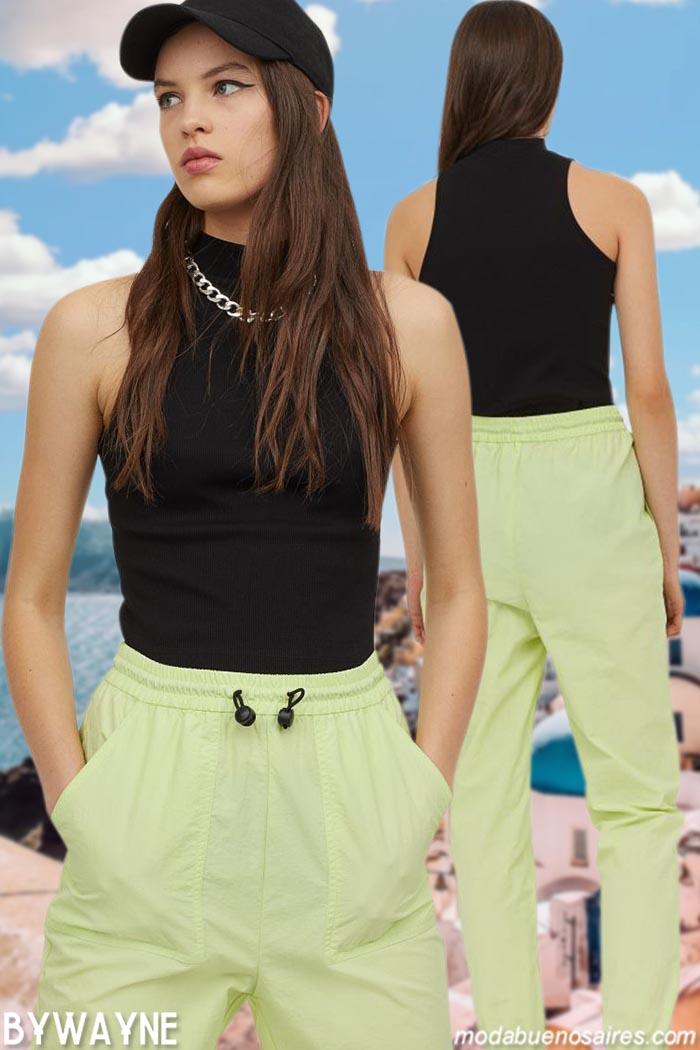 moda pantalones deportivos primavera verano 2021 mujer