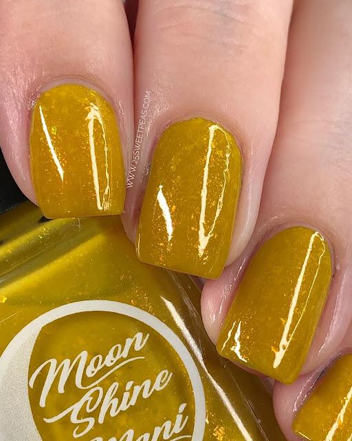 Moon Shine Mani Colonel Mustard 25 Sweetpeas