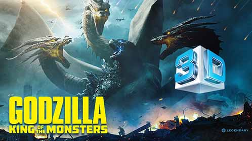 Godzilla II El rey de los monstruos (2019) 3D SBS Full 1080p Latino-Ingles