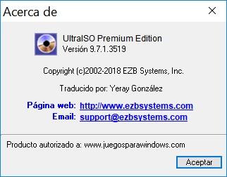 UltraISO Premium Edition v9.7.1.3519 PC ESPAÑOL 2