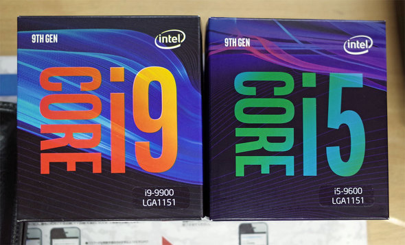 "TDP 65W 8-core 16-thread CPU ""Core i9-9900"" appears, but the trend of shortage remains unchanged"