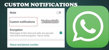 With a contact or group conversation, you can set that you want a different ringtone or color notification.