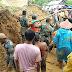 Koramil 05/Lubuk Alung Bantu Evakuasi Korban Tanah Longsor Di Tanah Taban Pasie Laweh