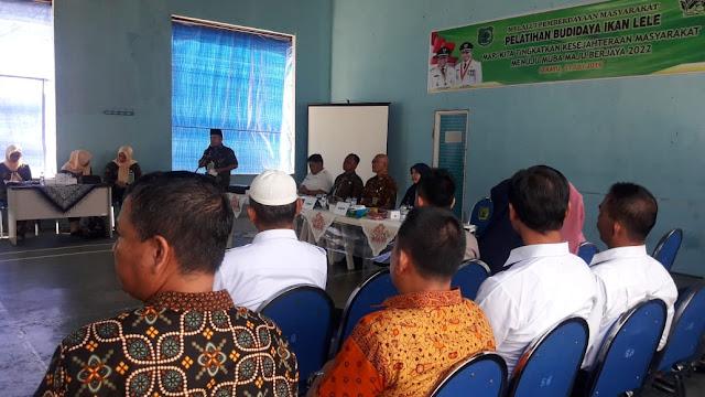 Kelurahan Soak Baru Gelar Pelatihan Kelompok Budidaya Ikan Lele