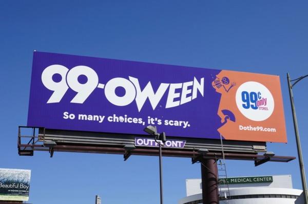 99-oween billboard