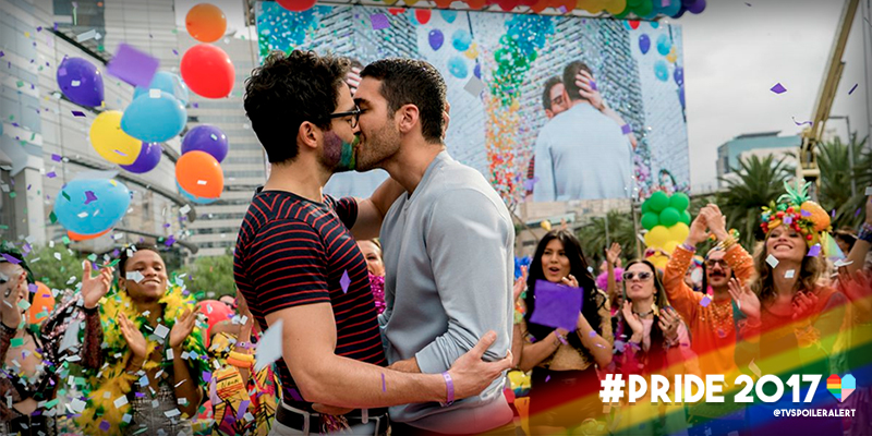 Hernando y Lito se besan en 'Sense8'
