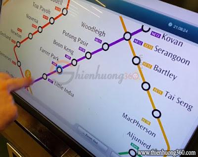 Hướng dẫn mua Standard Ticket Singapore