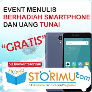 Lomba Menulis Tema Bebas Hadiah Smartphone, Uang, Flashdisk, Pulsa dan Sertifikat Semua Peserta
