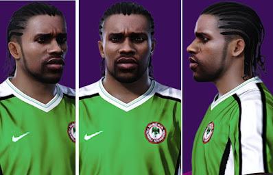 PES 2021 Faces Jay-Jay Okocha by Alireza