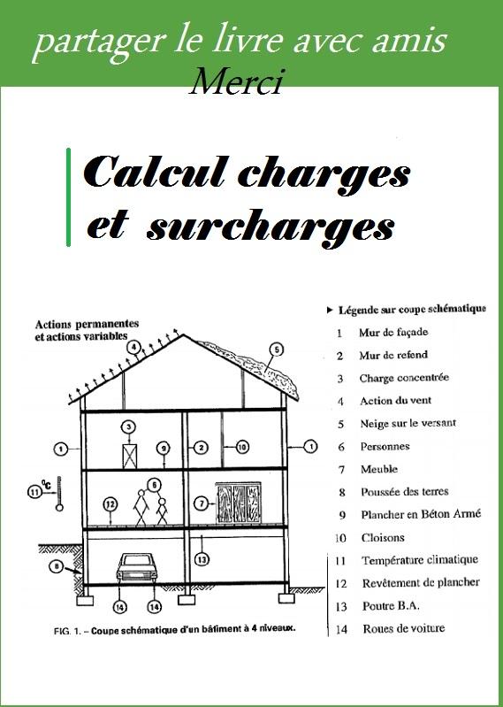 Calcul charges et surcharges pdf book batiment architecture # Calcul Charge Admissible Plancher Bois