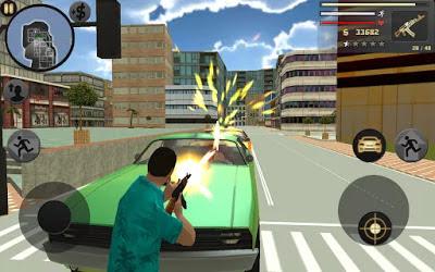 تحميل لعبة الاكشن الشهيرة الحرامي السيارات Vegas Crime Simulator