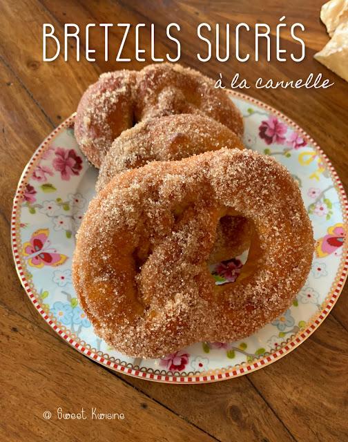 sweet kwisine, bretzel, cannelle, aunty anne, sucre