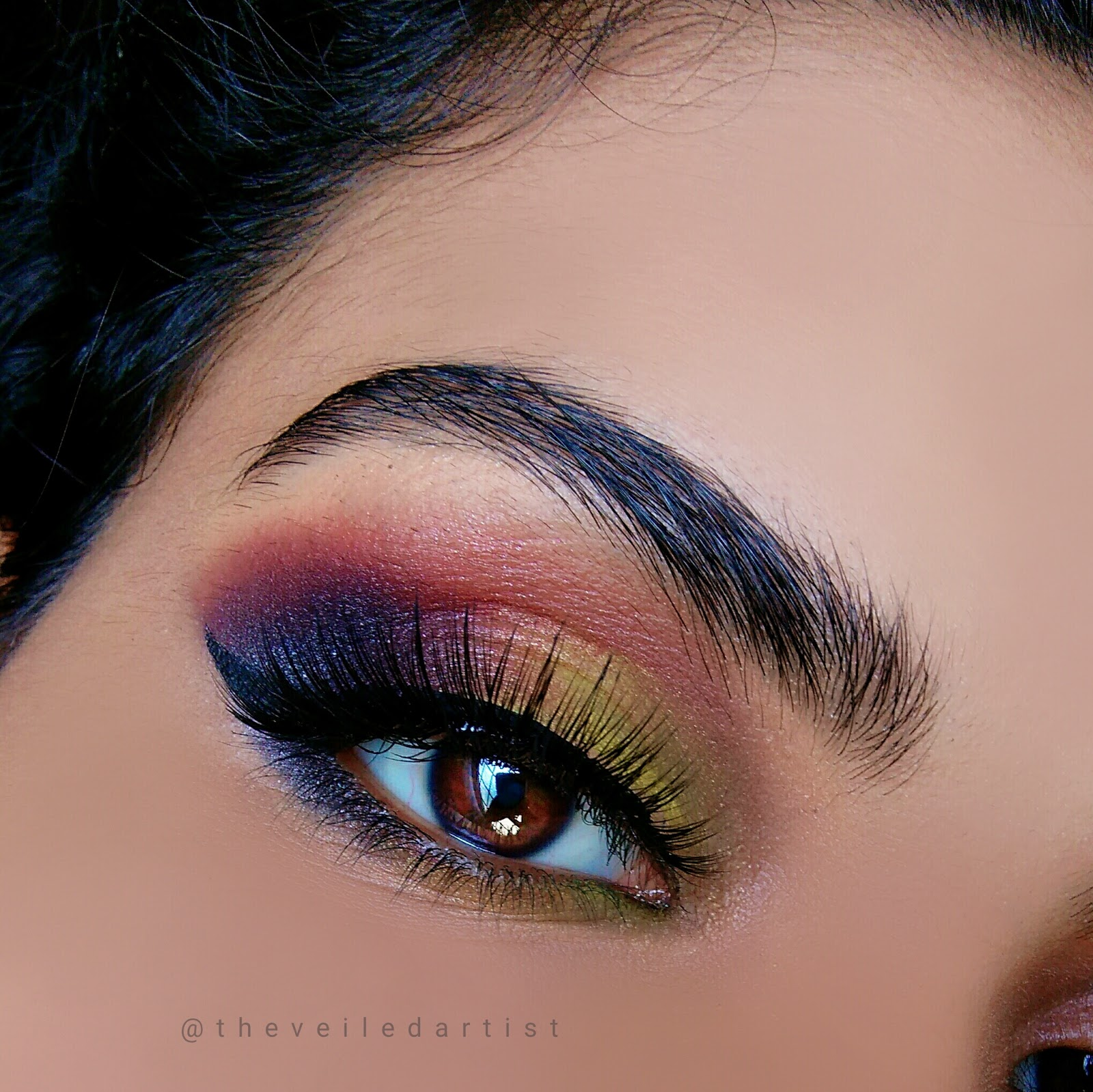 Sunset Inspired Smokey Eyes Tutorial Beginner Friendly The