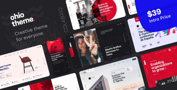 42 New Awesomely Design Premium Themes