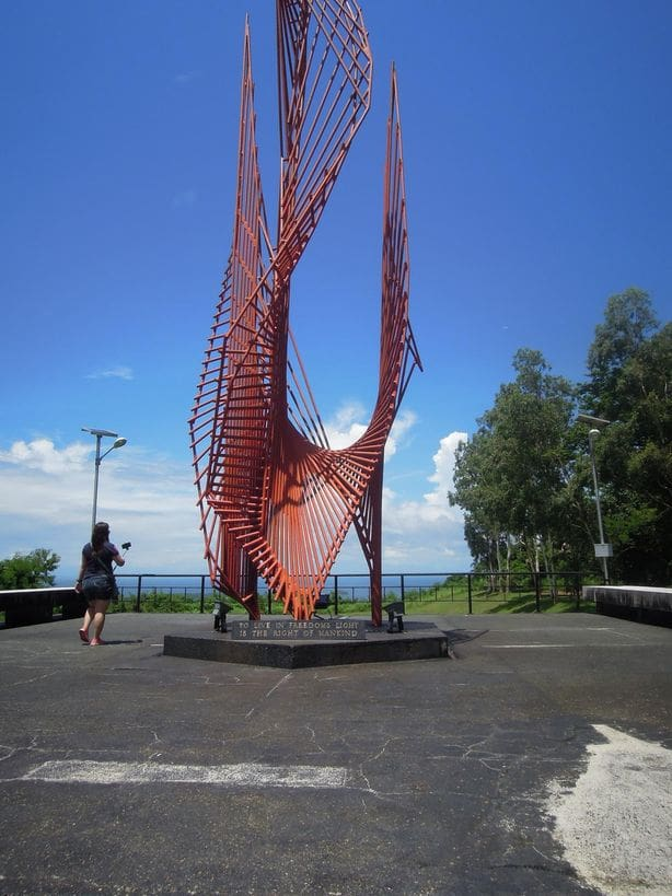 The Eternal Flame of Freedom at Corregidor Island