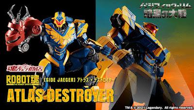 Robot Damashii  Pacific Rim: The Black Atlas Destroyer