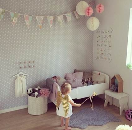 Unique Ideas for decorating little girls' bedrooms 2