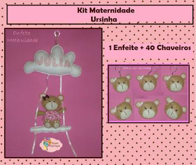 kit-maternidade-nome-enfeite-porta-ursinha-feltro