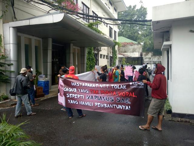 Dugaan Lakukan Tindak Asusila, Salah Satu Bacagub NTT Dilaporkan ke Komnas HAM
