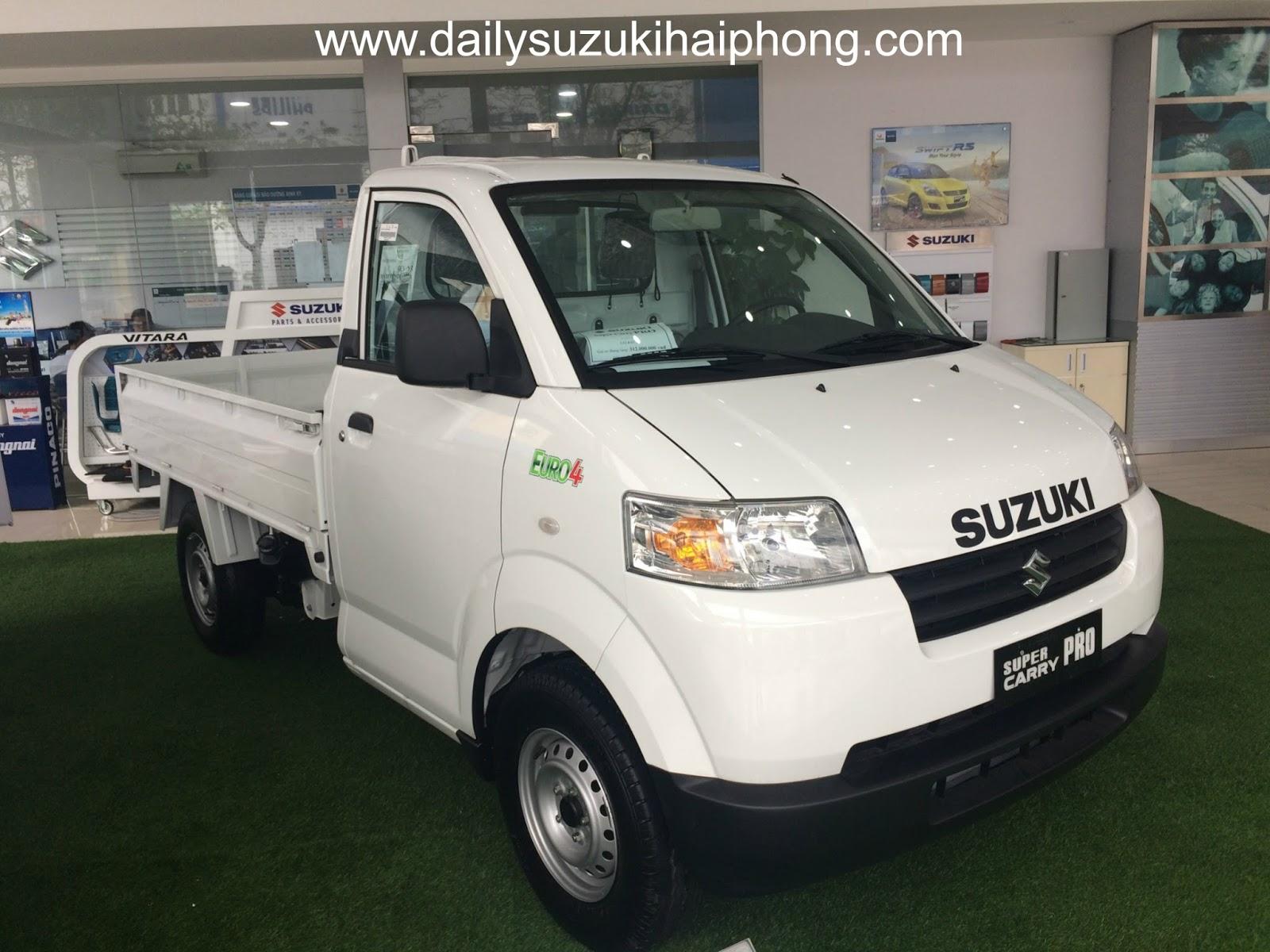xe tải Suzuki 750kg Hải Phòng