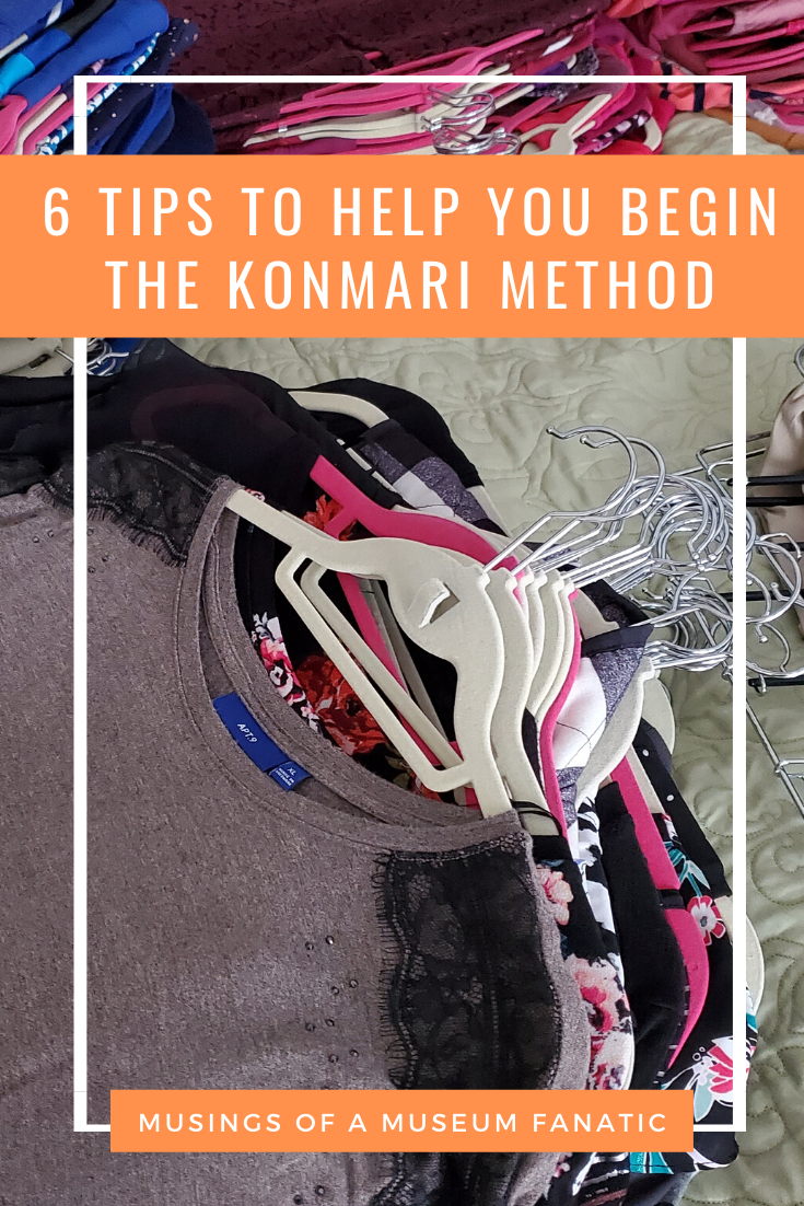 6 Tips to Help You Begin the KonMari Method by Musings of a Museum Fanatic