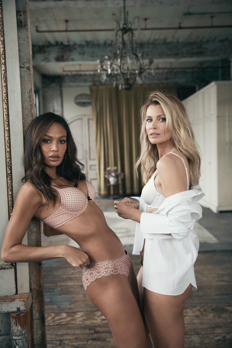 Joan Smalls and Daniela Pestova appear in Body by Victoria Victoria's Secret 2020 campaign