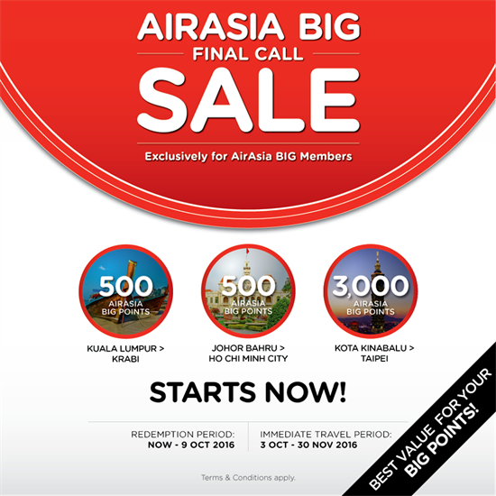 final call sale air asia