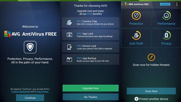 AVG Antivirüs