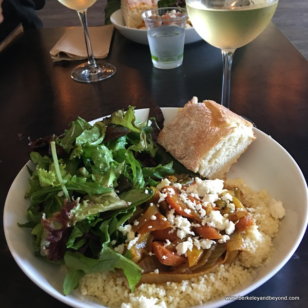 Moroccan cous cous dinner at Big Bottom Market  in Guerneville, California