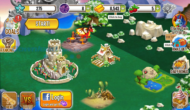 Marvelous Upgrade Dragon Habitat Will Increase The Limit Number Of Dragons In Each  Residence, As Well As The Amount Of Gold You More.