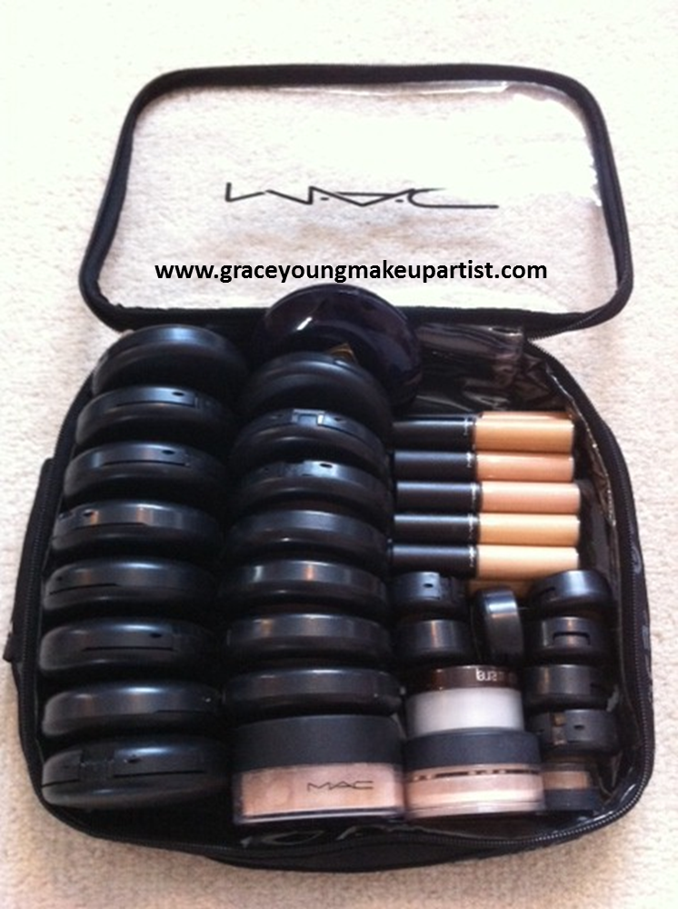 grace young: My freelance makeup kit (MAC Zuca traincase)