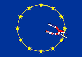 BREXIT Logo by Ian Davy Brown