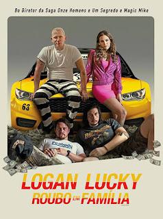 Logan Lucky: Roubo em Família - BDRip Dual Áudio