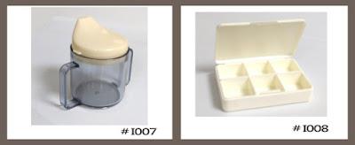 plastic cup, drug box, plastic box