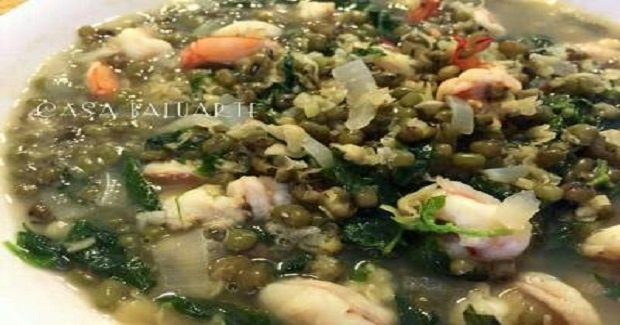 Ginisang Monggo Sa Hipon Recipe