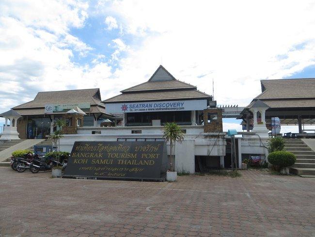 Бангкрак пирс остров Самуи