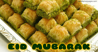 eid mubarak images sweets
