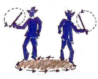 tamunangue baile danza teatro espadas
