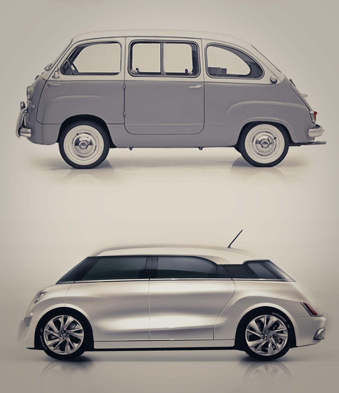 shane paul sumampouw: Fiat 600 multipla just for fun