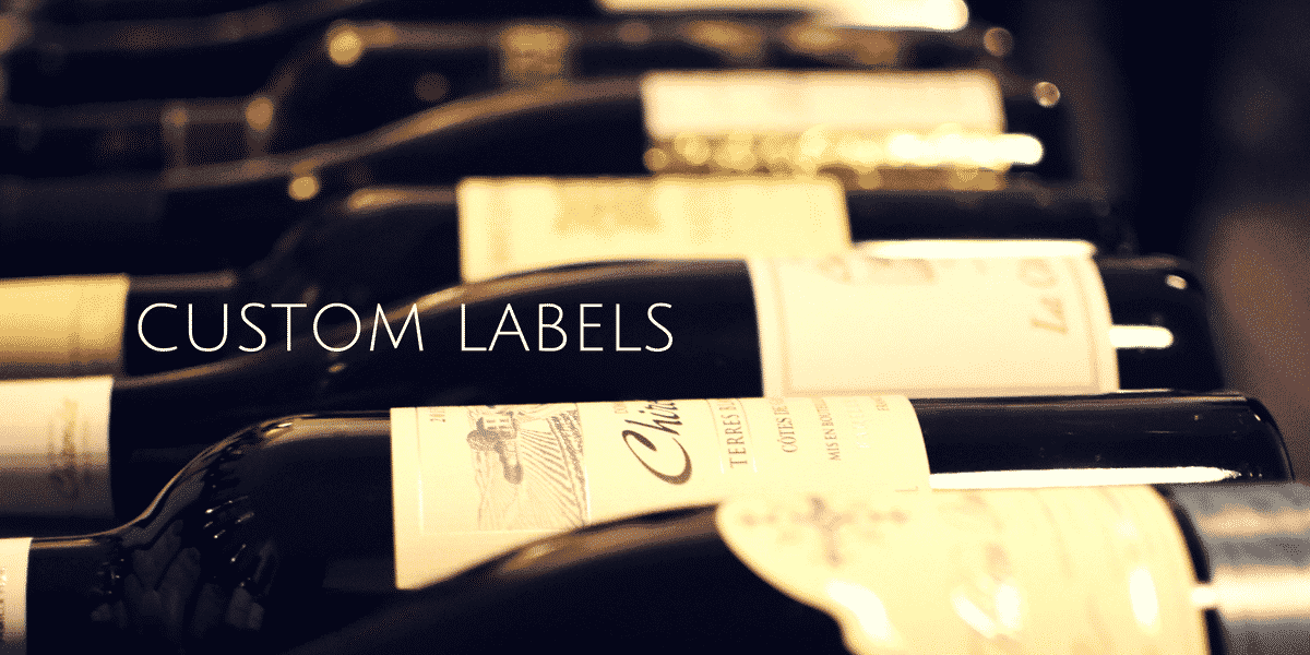 custom labelled products