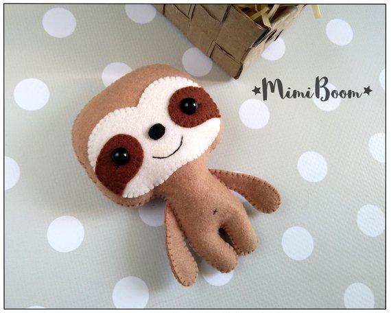 sloth diy toy