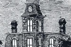"""House"" frontispiece by Edward Gorey"