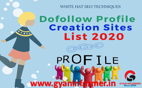 High DA Dofollow Profile Creation Sites List For Seo To Improve Site Ranking