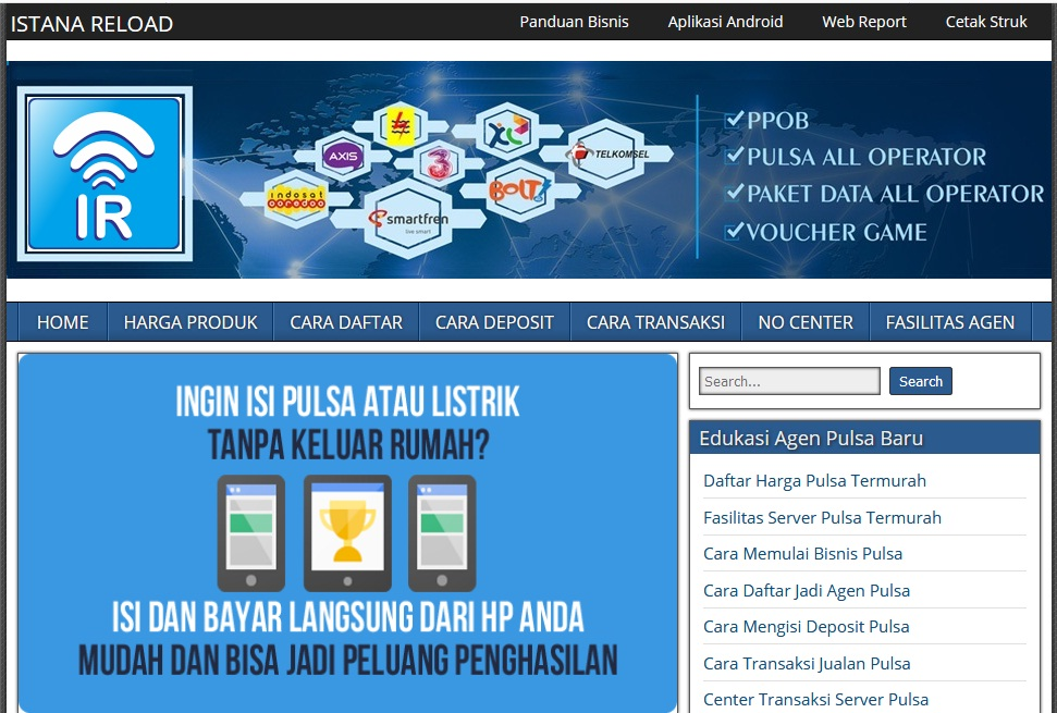 web pemasaran - web pulsa gratis - blog pulsa - www.istanareloadpulsamurah.com
