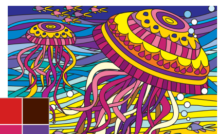 Coloring Book App Helps Adults Chill